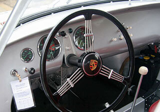 Porsche 550-01 - Restoration By Joe Cavaglieri - Interior Items
